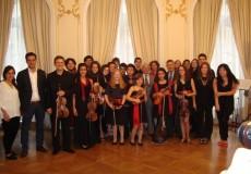 La Camerata de la Escuela Shinichi Suzuki en el Festival internacional de Música de Belfort