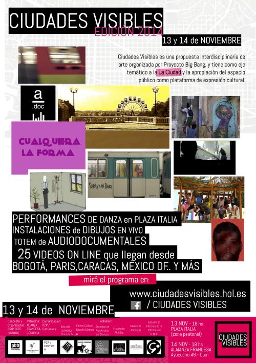 Vº Encuentro y Iº Foro Internacional Ciudades Visibles / Edición 2014